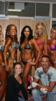 2012 INBF Northeast Classic Musclesculpture.com Team