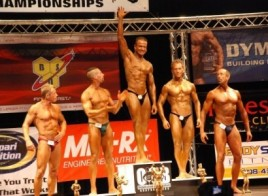 Rolando Amorim Wining Natural Bodybuilding Pro Card